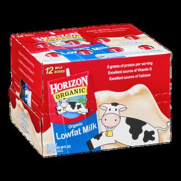 Horizon Organic Lowfat Milk - 12 CT