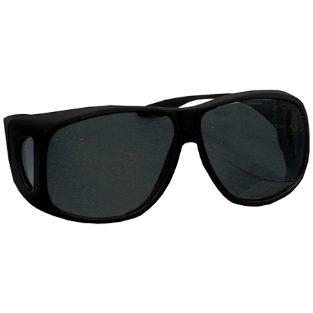 Solar Shield Fits Over Classic Polarized Plastic Sunglasses Size XL