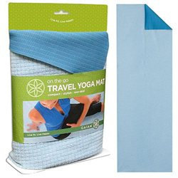 Gaiam Yoga Travel Yoga Mat, 1 ea