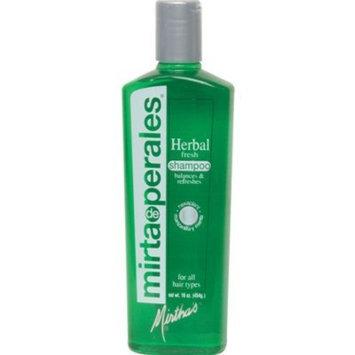 Mirta De Perales Herbal Fresh Shampoo, 16 Ounce