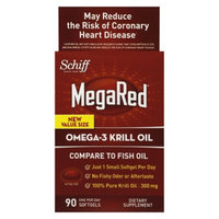 Megared MegaRed Omega-3 Krill Oil Softgels - 90 Count