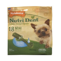 Nylabone Nutri Dent Extra Fresh, 18 Count Pantry Pack