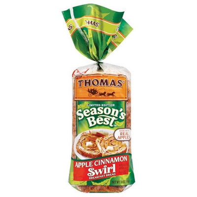 Thomas': Season's Best Swirl Apple Cinnamon Breakfast Bread, 16 Oz