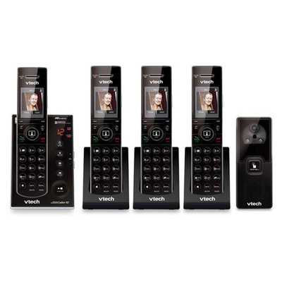 VTech IS7121-2 + (2) IS7101 4 Handset Cordless Video Phone