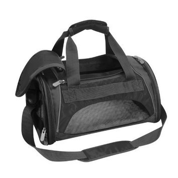 Sherpa Sport Duffle Pet Carrier in Black