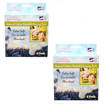 Nuangel, Inc. NuAngel All-natural Cotton Washable Nursing Pads