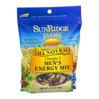 SunRidge Farms All Natural Omega 3 Men's Energy Mix