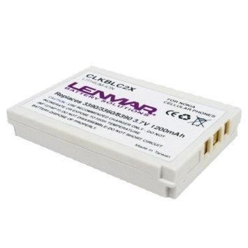 Lenmar Battery for Nokia Cellular Phones - White (CLKBLC2X)