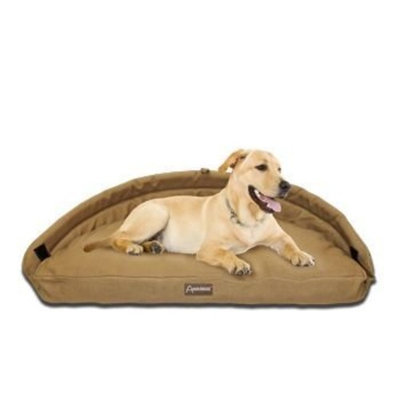 ABO Gear Adelaide Natural Cotton Tan Dog Bed