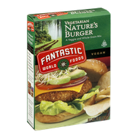 Fantastic World Foods Vegetarian Nature's Burger Veggie and Whole Grain Mix
