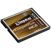Kingston CompactFlash Ultimate 64GB Memory Card 600x With Recovery