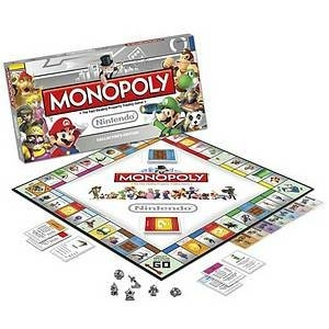Monopoly Nintendo Edition Ages 8+