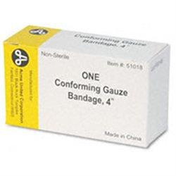 PhysiciansCare Conforming Gauze Bandages, 4