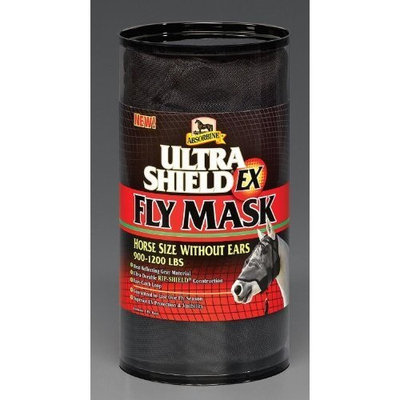 Absorbine Ultrashield Fly Mask No Ears Horse