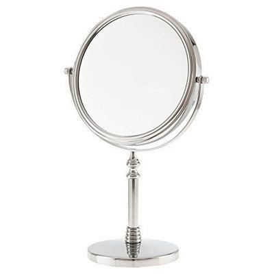 Danielle 10x Magnification Vanity Mirror, Chrome