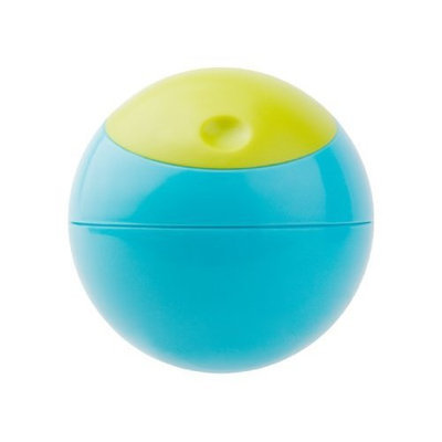 Boon Snack Ball Snack Container, Blue and Green (Discontinued by Manufacturer)