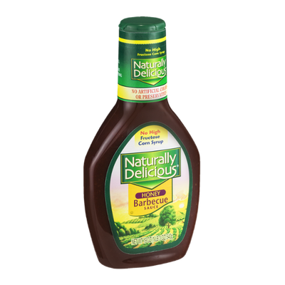 Naturally Delicious Honey Barbecue Sauce