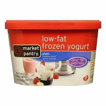 Market Pantry Plain Low-Fat Frozen Yogurt 14-oz.