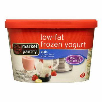 Market Pantry Plain Low-Fat Frozen Yogurt 14-oz.
