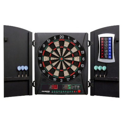 DMI Sports Cricket Maxx 1.0 Electronic Dartboard Cabinet Set
