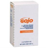 GOJO NATURAL ORANGE Pumice Hand Cleaner Refill, Citrus Scent, 2000 mL, 4/Carton