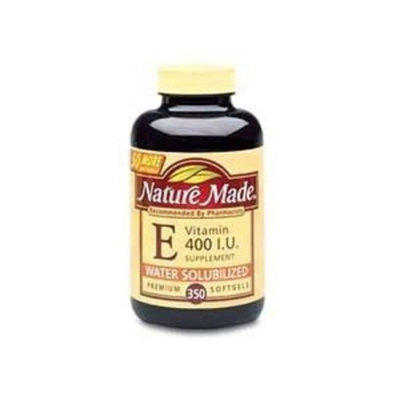 Nature Made Vitamin E 400 IU Water Soluble 350 Softgels