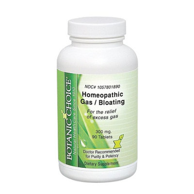 Botanic Choice Homeopathic Gas/Bloating Tablets