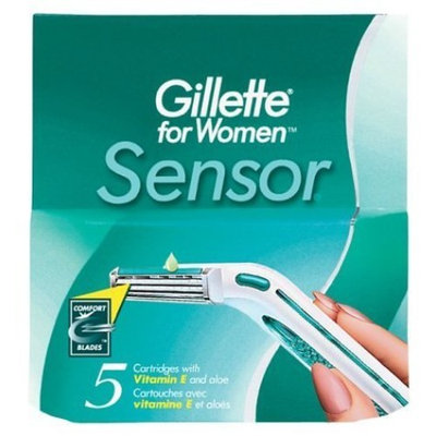 Gillette For Women Sensor Excel Cartridges 5 Pack