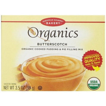 Dr. Oetker Organics Pudding Mix, Butterscotch, 3.5-Ounce Boxes (Pack of 12)