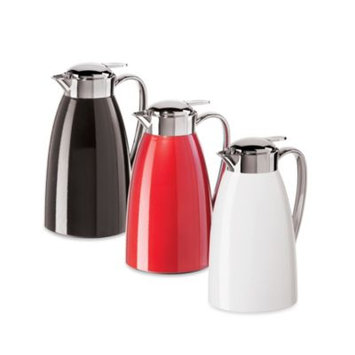 Oggi Gusto Red 34oz Vacuum Glass Liner Carafe