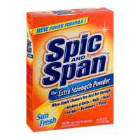 Spic and Span The Extra Strength Powder Sun Fresh