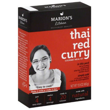 Marions Kitchen Marion's Kitchen Thai Red Curry Gourmet Meal Kit, 15.9 oz, (Pack of 5)