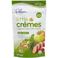 Plum Organics Little Crèmes Organic Rice Milk Snacks Super Greens