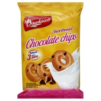 Bauducco Foods Inc Shortbread, Choc Chips, 11.82-Ounce (Pack of 12)