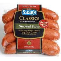 Saag's Smoked Brats Bratwurst 12 Oz.