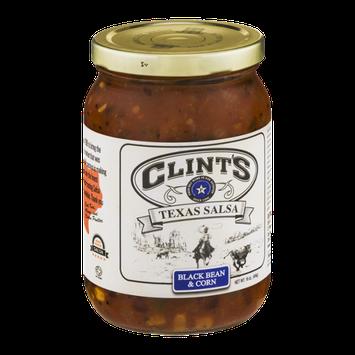 Clint's Texas Salsa  Black Bean & Corn