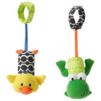 Infantino Tag Along Chimes - Frog/Duck