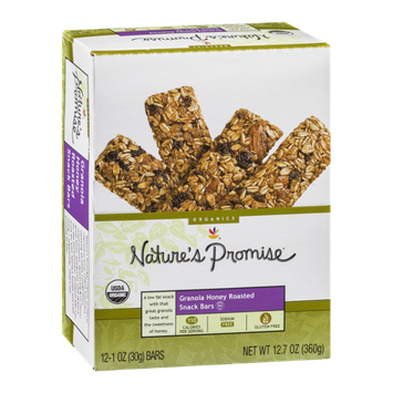 Nature's Promise Granola Honey Roasted Snack Bars - 12 CT