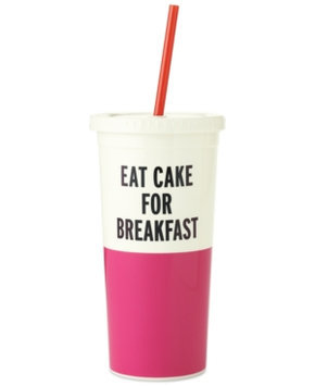 Eat Cake For Breakfast Insulated Tumbler