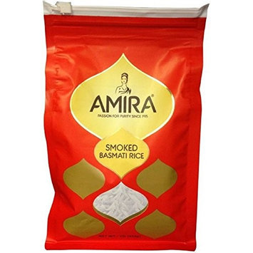 Amira RICE, BASMATI, SMOKED, (Pack of 12)