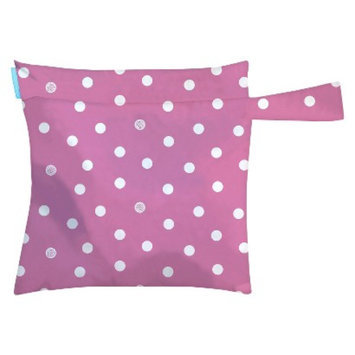 Charlie Banana Wet Diaper Tote - Pink with Dots
