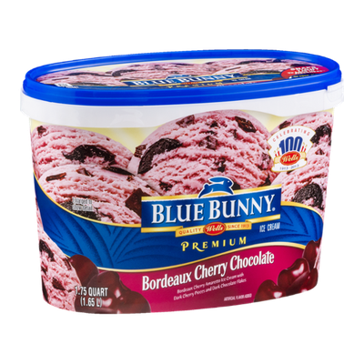Blue Bunny Ice Cream Bordeaux Cherry Chocolate