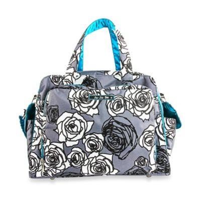Ju Ju Be Be Prepared Diaper Bag - Charcoal Roses