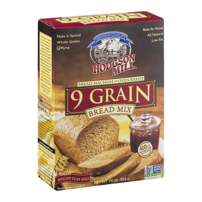 Hodgson Mill Bread Mix 9 Grain with Milled Flax Seed