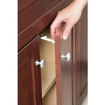 Safety 1st Spring-Loaded Cabinet & Drawer Latches