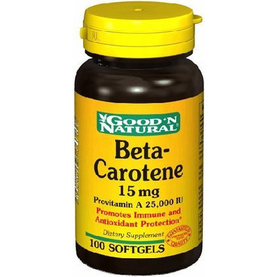 Good 'N Natural Beta-Carotene 15 mg 100 Softgels