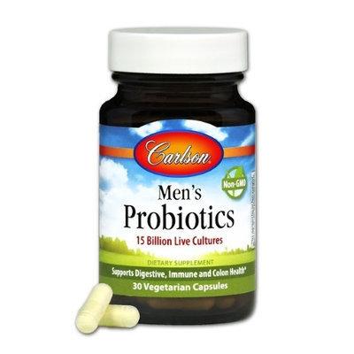 Mens Probiotics Carlson Laboratories 30 Caps