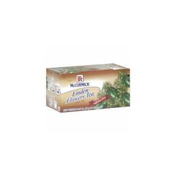 Mccormick BG15720 Mccormick Linden Flower Tea - 6x25BAG