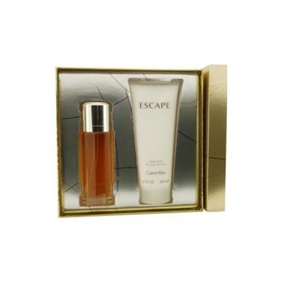 Escape By Calvin Klein Set-Eau De Parfum Spray 3.4 Oz & Body Lotion 6.7 Oz