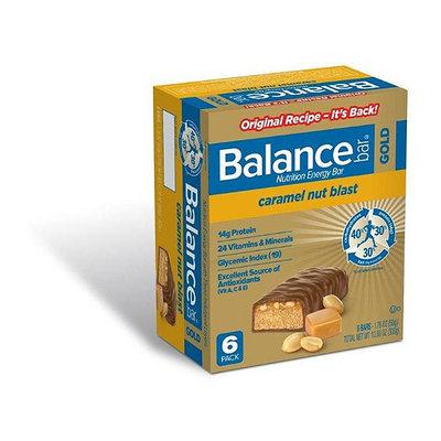 Balance Gold : Caramel Nut Blast 1.76 Oz Nutrition Energy Bar